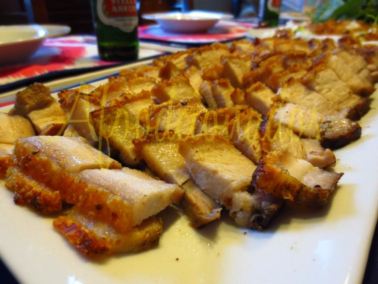 My Mom's Roasted Pork