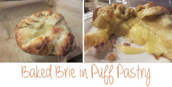 Afoodcionado - Baked Brie in Puff Pastry