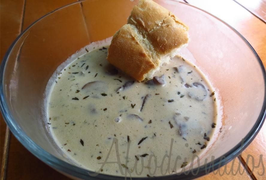Afoodcionados Mushroom Soup Cover