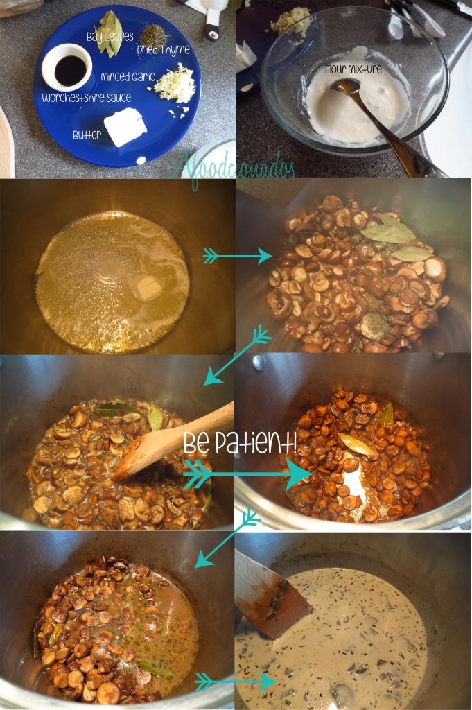 Afoodcionados Mushroom Soup | The Steps!