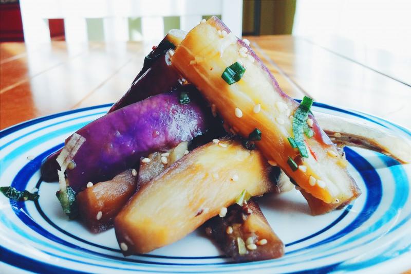 Maangchi Eggplant Sidedish